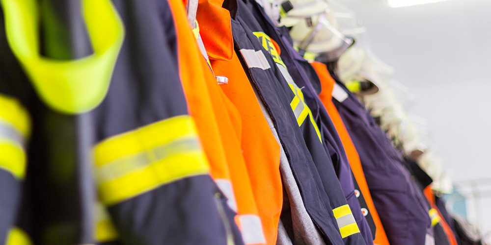 protective clothing for fire fighters